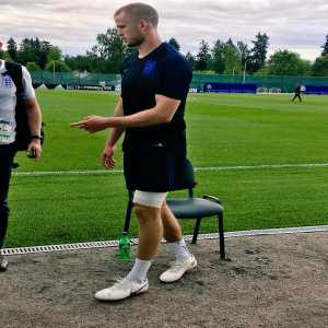 David Ornstein: Eric Dier has strapping on his left thigh but took full part in training & showed now sign of discomfort. Says it's a groin problem he's been carrying for a while & feels fine. Adds Rashford is doing ok. Squad trains again tomorrow 09:15 GMT (11:15 local) #WorldCup #ENG #ThreeLions