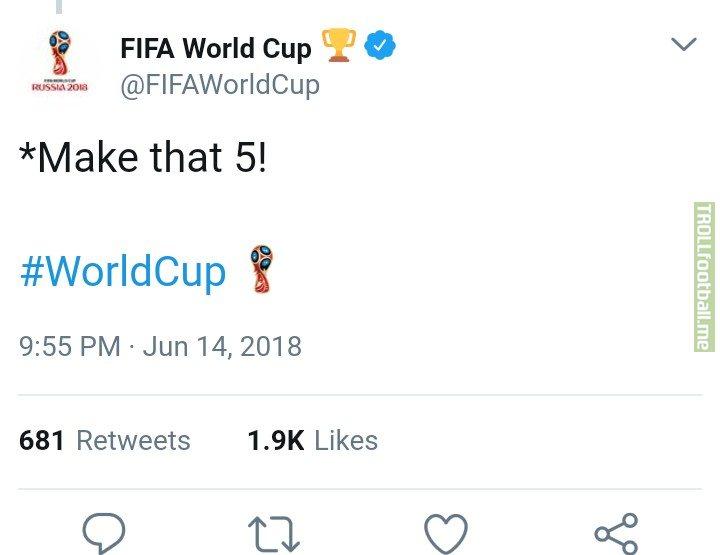 Even FIFA World Cup Official Account Was  Trolling Saudi Arabia!😂😂🔥  MJJ