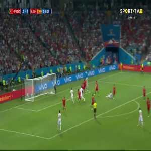 Diego Costa goal (Portugal 2-[2] Spain) 54'