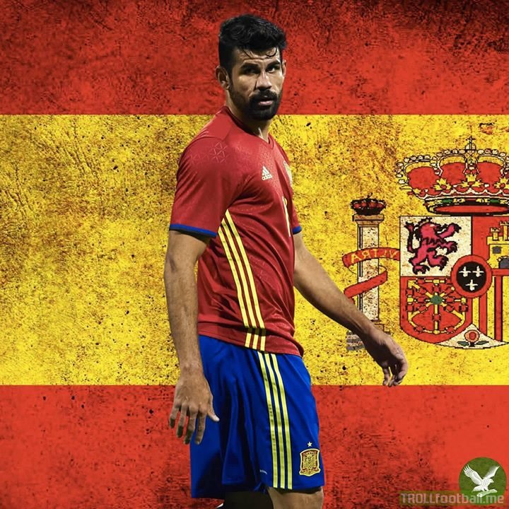 GOAL: Portugal 1 - 1 Spain. WHAT A GOAL! DIEGO COSTA BULLDOZES HIS WAY THROUGH! RUTHLESS