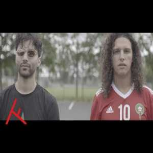 Louis van Gaal, Wesley Sneijder, Patrick Kluivert and Ruud van Nistelrooy appear in rap video from Moroccan/Dutch rapper Ali B giving their support to the Moroccan squad at the World Cup
