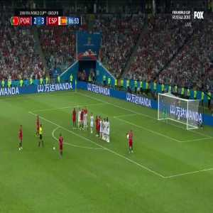 Cristiano Ronaldo 3rd goal vs Spain with the commentary from Nuno Matos