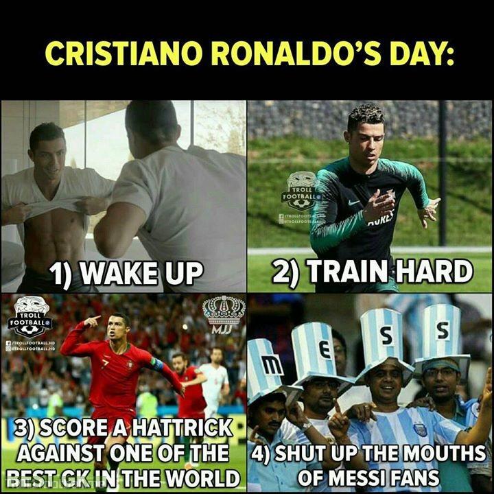 It Has Been Cristiano Ronaldo's Best Day So Far..👌🔥  MJJ