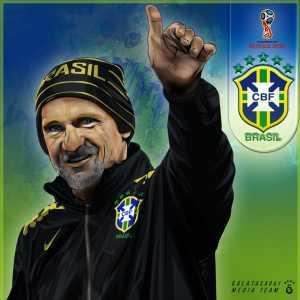 Galatasaray wishes good luck to Brazil, whose goalkeeping coach is former Galatasaray player Cláudio Taffarel