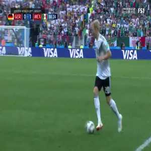 Germany's 89th minute opportunity vs Mexico
