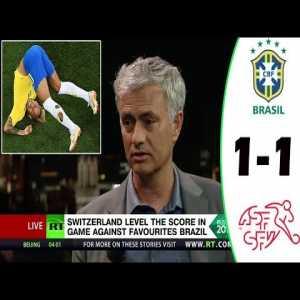Mourinho Analysis - Brazil vs Switzerland