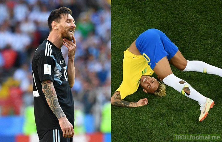 OFFICIAL: Mastercard have ended their campaign to donate meals to children in Latin America every time Messi and Neymar score in the WorldCup  Well, that backfired. 👏