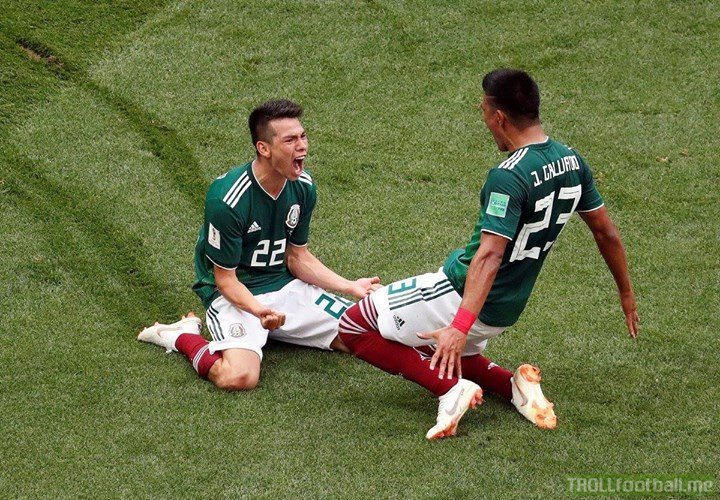 The celebrations in Mexico for the victory over Germany are so loud they caused an earthquake in Mexico City 😂