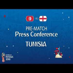 """""""You gave me a good idea, i hadn't thought about it"""" Tunisian coach answers english journalist about Dele Alli potentially getting easily into trouble and getting a red card."""