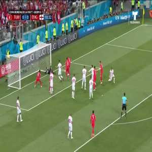 Harry Kane (England) goal vs. Tunisia (0-[1])