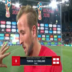 Post Match Interview – Harry Kane on England rare win in their opening match and how great his teammates were
