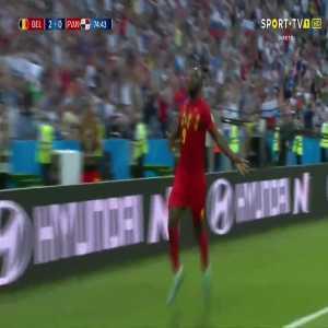 R. Lukaku goal (Belgium [3]-0 Panama) 75'