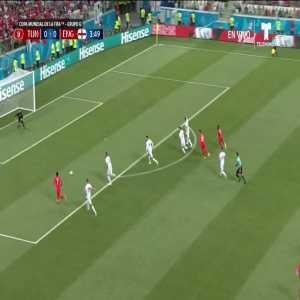Raheem Sterling miss vs. Tunisia