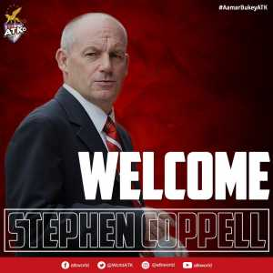 Steve Coppell appointed as ATK coach.