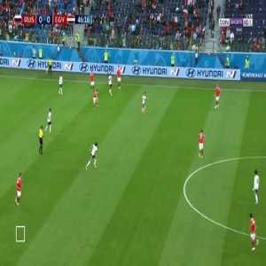 Ahmed Fathy Own Goal - Russia 1 vs 0 Egypt