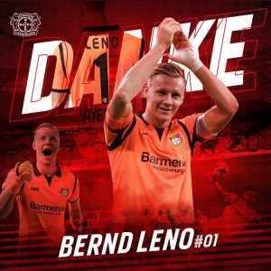 Bernd Leno joins Arsenal
