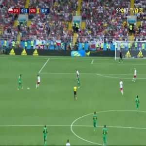 I. Gueye goal (Poland 0-[1] Senegal) 37'