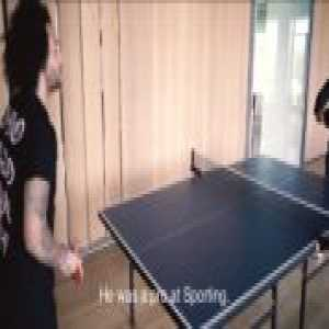 """Marcelo on playing ping pong with Ronaldo: """"We play with him and he goes like this BLAM!"""""""