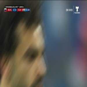 Mohamed Salah Penalty (Egypt 1 - 0 Russia)