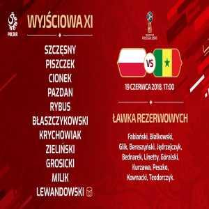 Poland's team to face Senegal