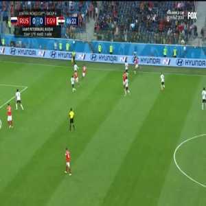 Russia 1-0 Egypt - Ibrahim 47' (OG) [2018 World Cup]