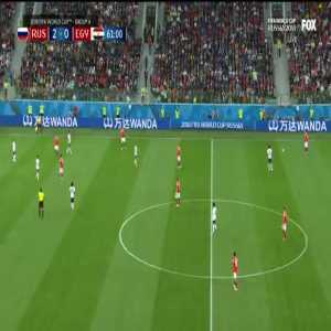 Russia 3-0 Egypt - Dzyuba 62' [2018 World Cup]