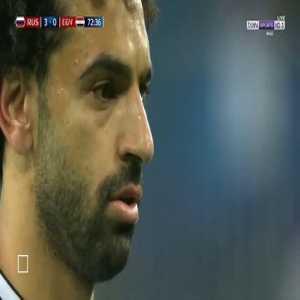 Salah Goal - Russia 3 vs 1 Egypt