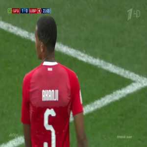 The outstanding performance of Manuel Akanji against Brazil