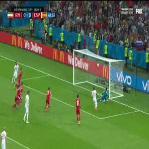 Beiranvand save vs Spain