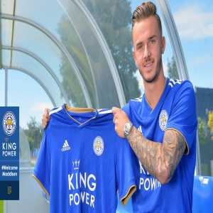 Leicester sign James Maddison