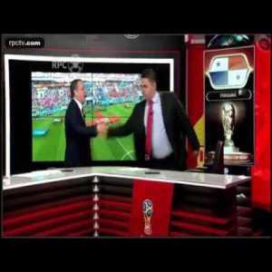 Panamenian commentators cried when they heard Panama's Hymn vs Belgium