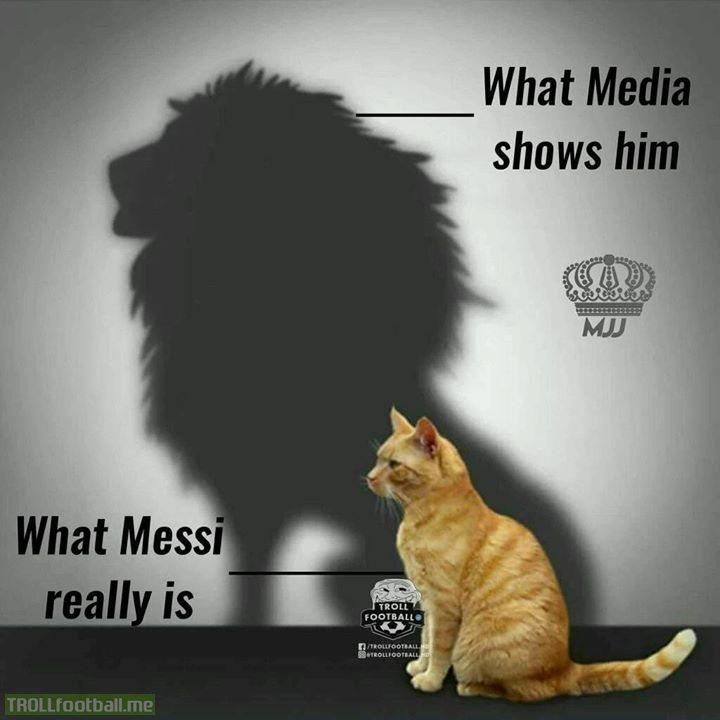Lionel Messi...