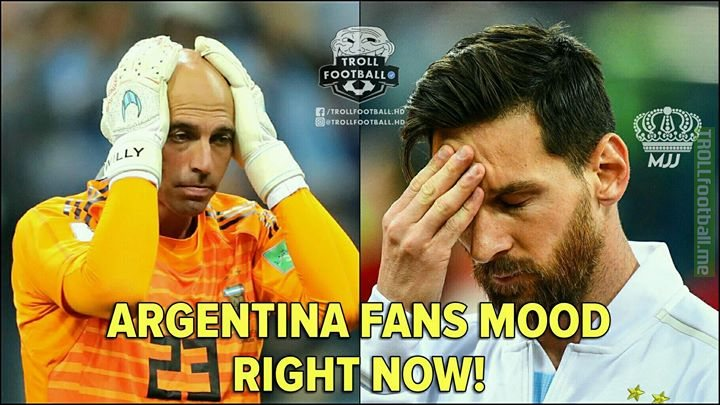 Tag Argentina Fans and Say Nothing!😉😂
