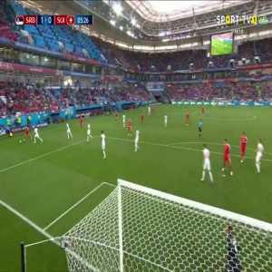 A. Mitrović goal (Serbia [1]-0 Switzerland) 5'
