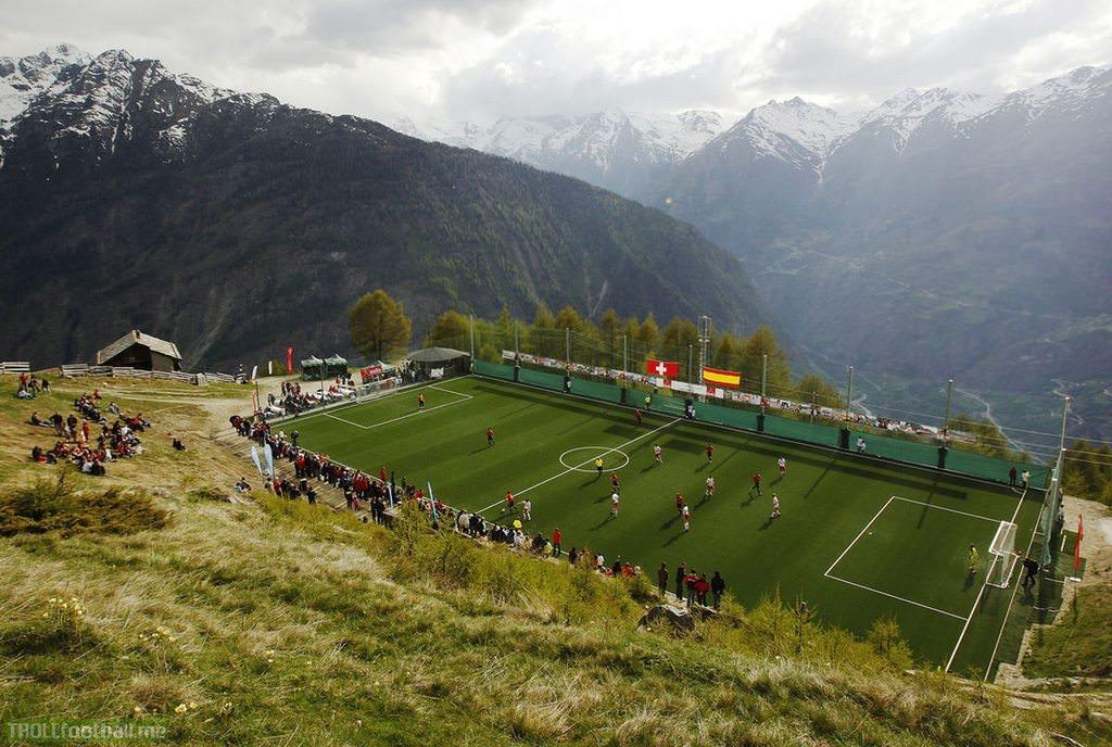 Football Fields Around the World