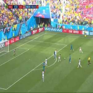 Neymar goal (Brazil [2]-0 Costa Rica) 97'