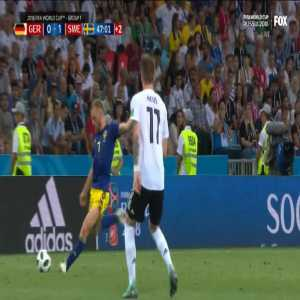 Manuel Neuer save before half time (Germany - Sweden)