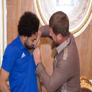 Mo Salah declared honorary citizen of Chechnya by warlord and leader Ramzan Kadyrov, who is known to have tortured men for being homosexuals.