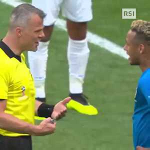 Björn Kuipers tells Neymar to shut up