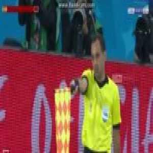 Aspas Offside Goal - Spain 1-2 Morocco 90'