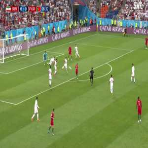 miscommunication by the Iran players leads to some pushing
