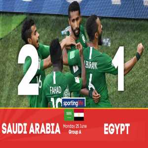 This is Saudi Arabia's first win at the World Cup since 1994, snapping a 12-match winless streak