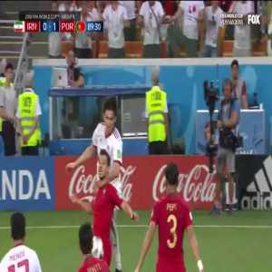 VAR rules handball by Cédric Soares vs Iran