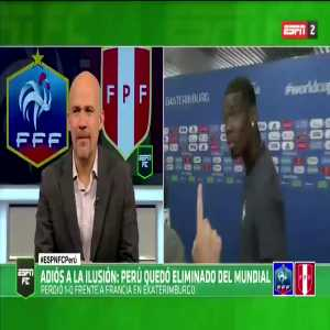 Paul Pogba has never played or lived in Spain. He is fluent in French, Italian and English. When asked about #PER, he replies in Spanish. Almost as if his choice of hairstyle has zero impact on football ability, intelligence or linguistic capability..