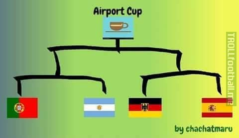 The Airport Cup has officially begun.