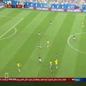 Roberto Firmino Goal - Brazil 2 vs 0 Mexico ( Arabic )