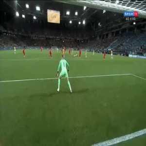 Pickford Incredible Save vs. Columbia