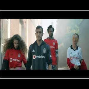 Besiktas unveils new season kits with a video
