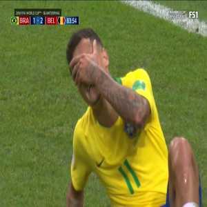 Coutinho's miss against Belgium