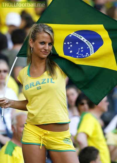 Discovered at the 2006 World Cup, this beauty is still my favourite soccer babe ever!